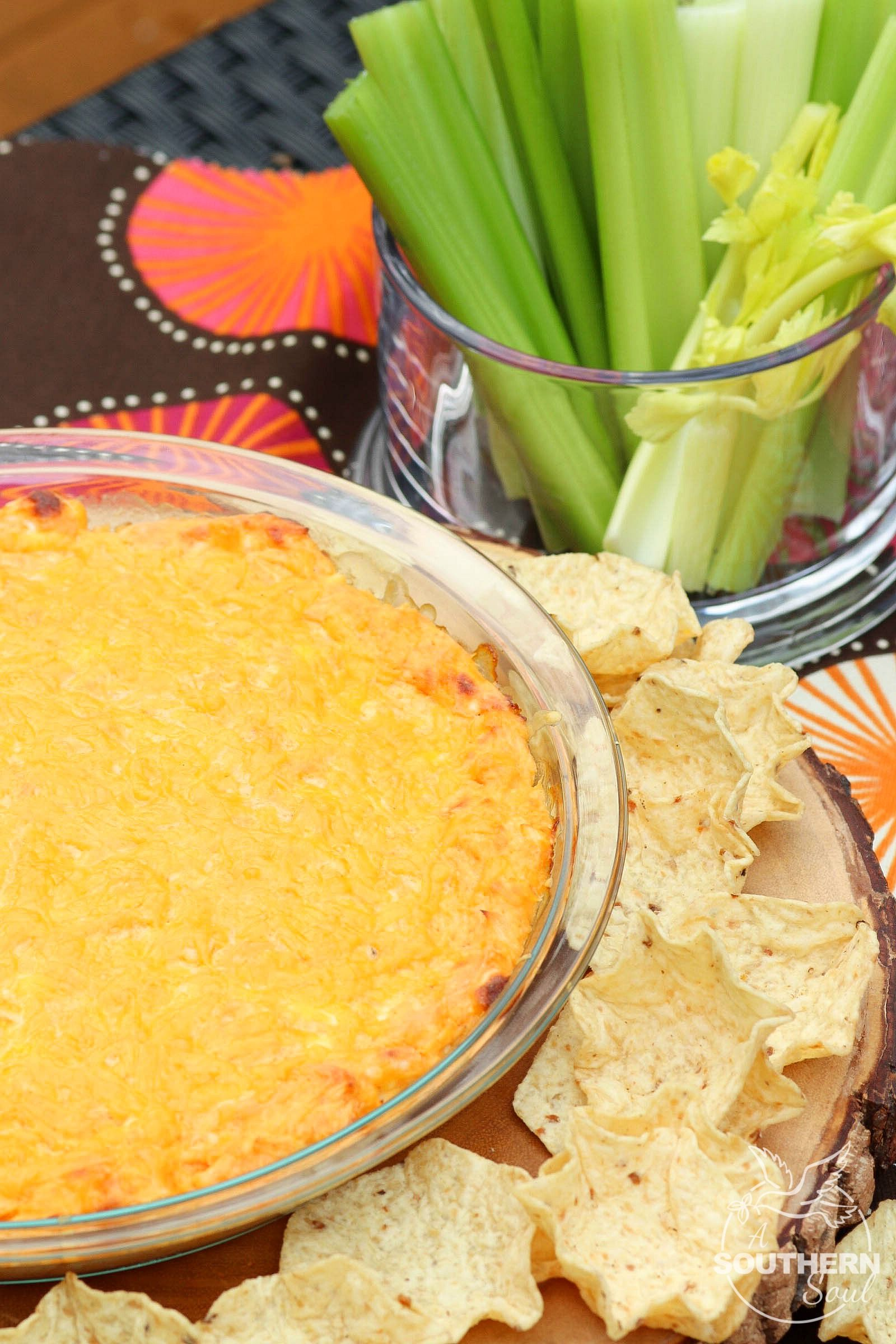 Hot Buffalo Chicken Dip Is A Great Appetizer That Full Of Creamy