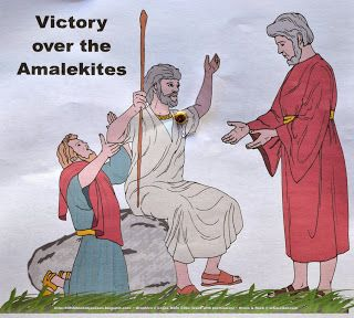 Moses Water From A Rock Victory Over Amalekites Bible Stories