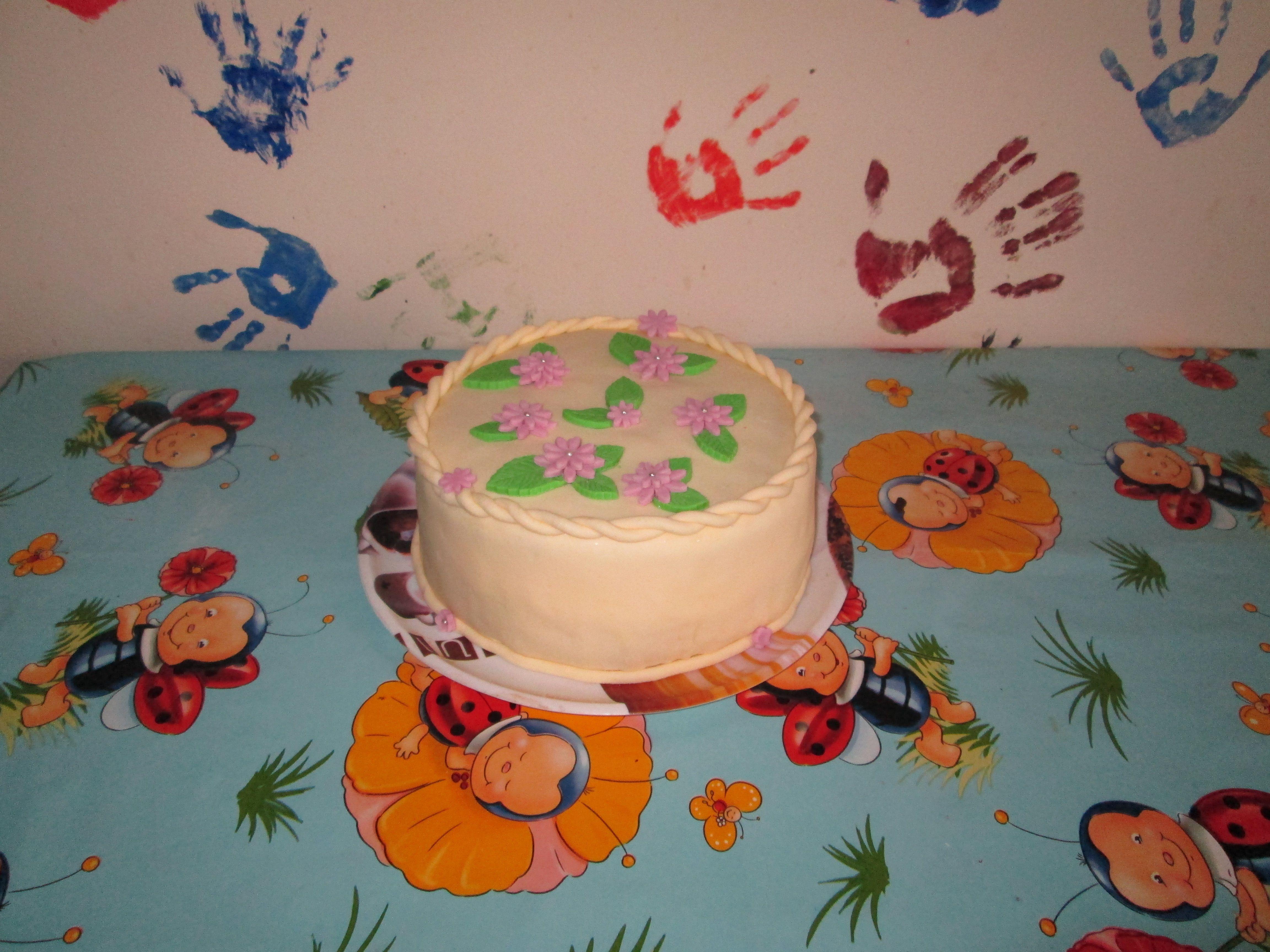 little flowers cake