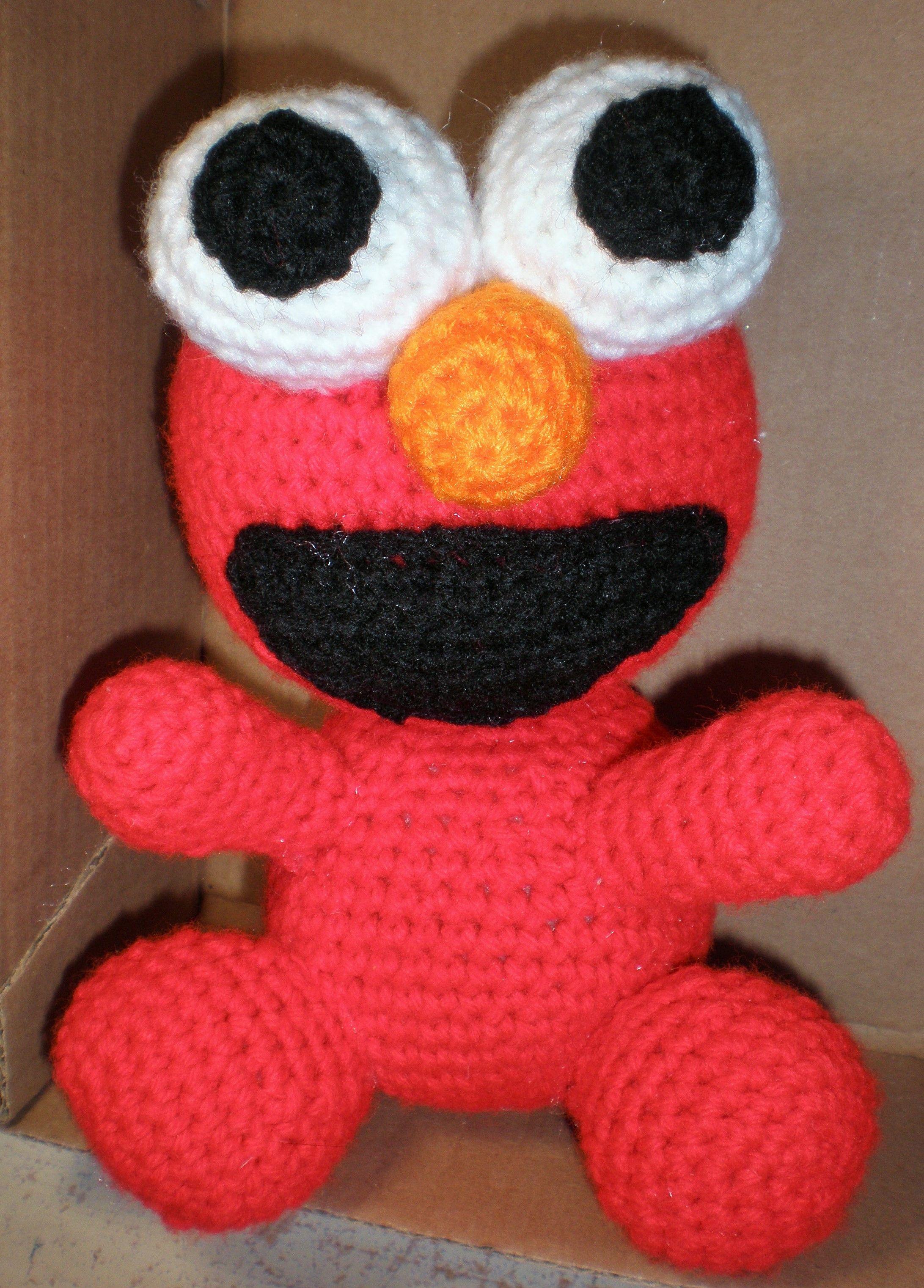 Sesame Street Elmo Inspired Baby Hat Crochet Pattern - Others ... | 3044x2184