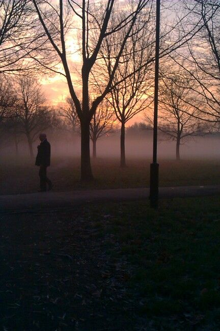 Fog on wandsworth common