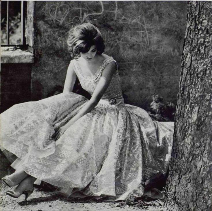 Chanel Vintage Fashion Photography: Moda Anos 50, Looks Style, Vestido