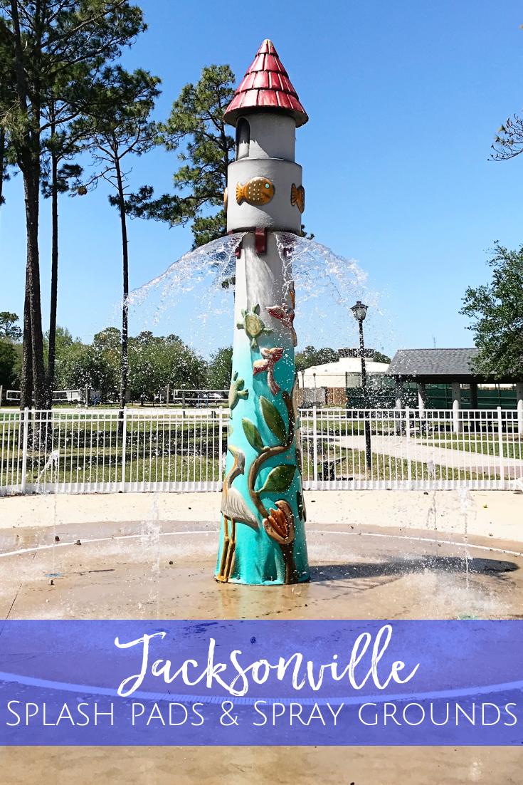 Splash Pads & Spray Grounds in Jacksonville Jacksonville