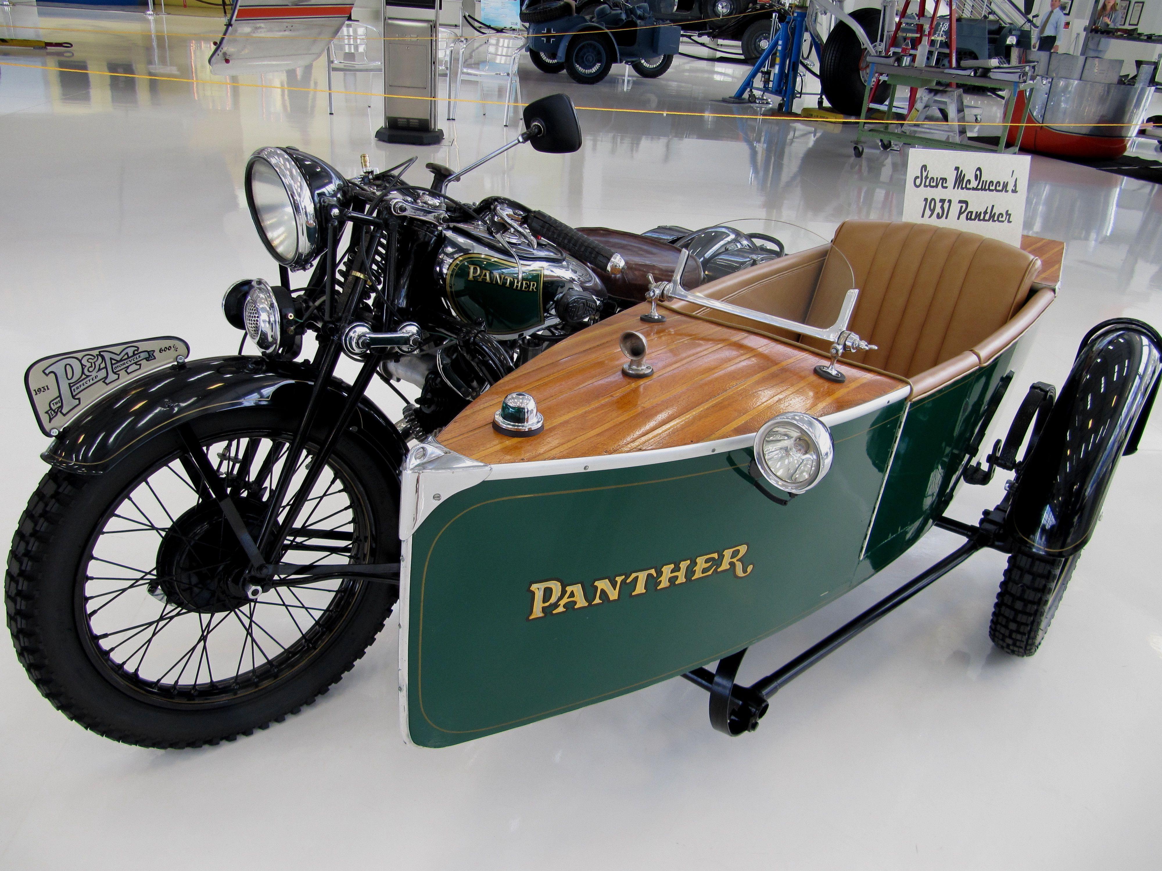 Panther Motorcycle 1931 Motorcycle Vintage Bikes Motorcycle Sidecar