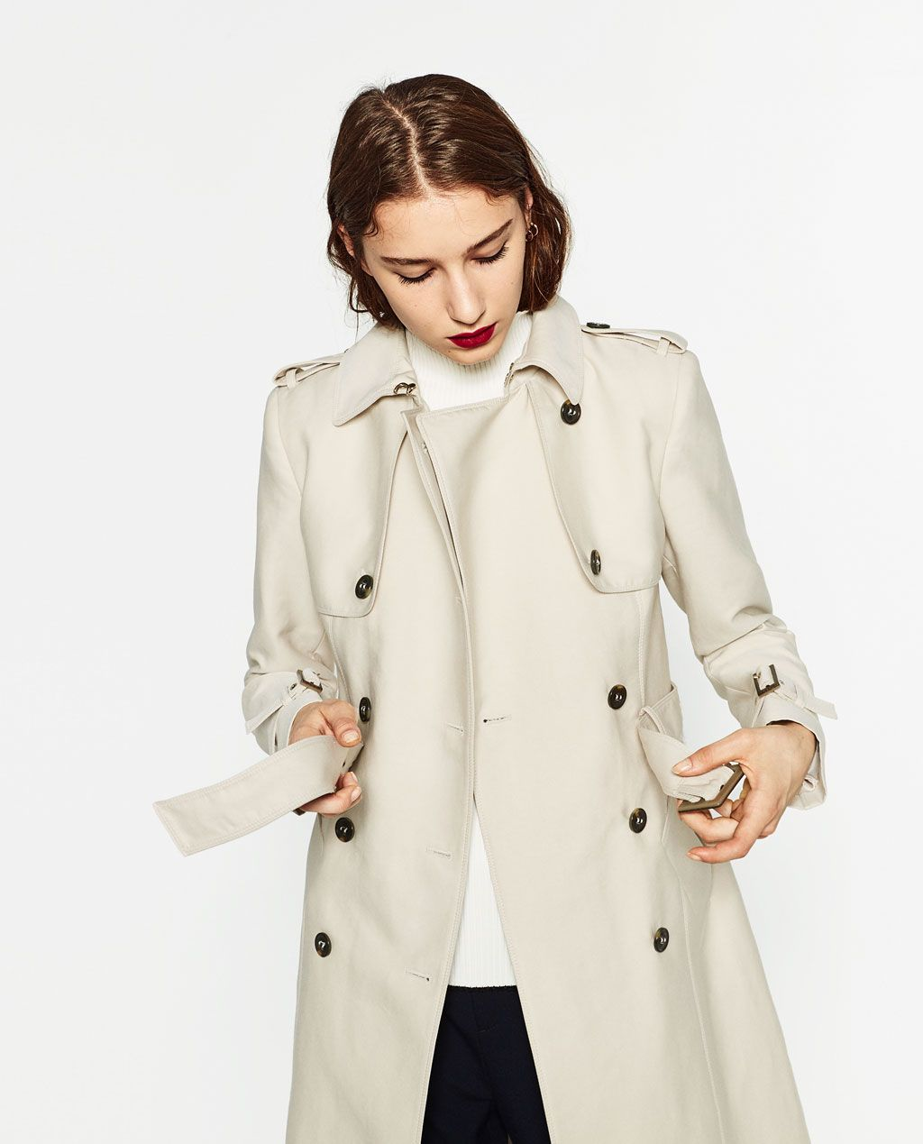 e7af5a997a WATER RESISTANT TRENCH COAT-View all-OUTERWEAR-WOMAN | ZARA United ...