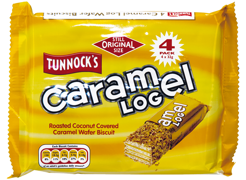 Tunnock's Caramel Log