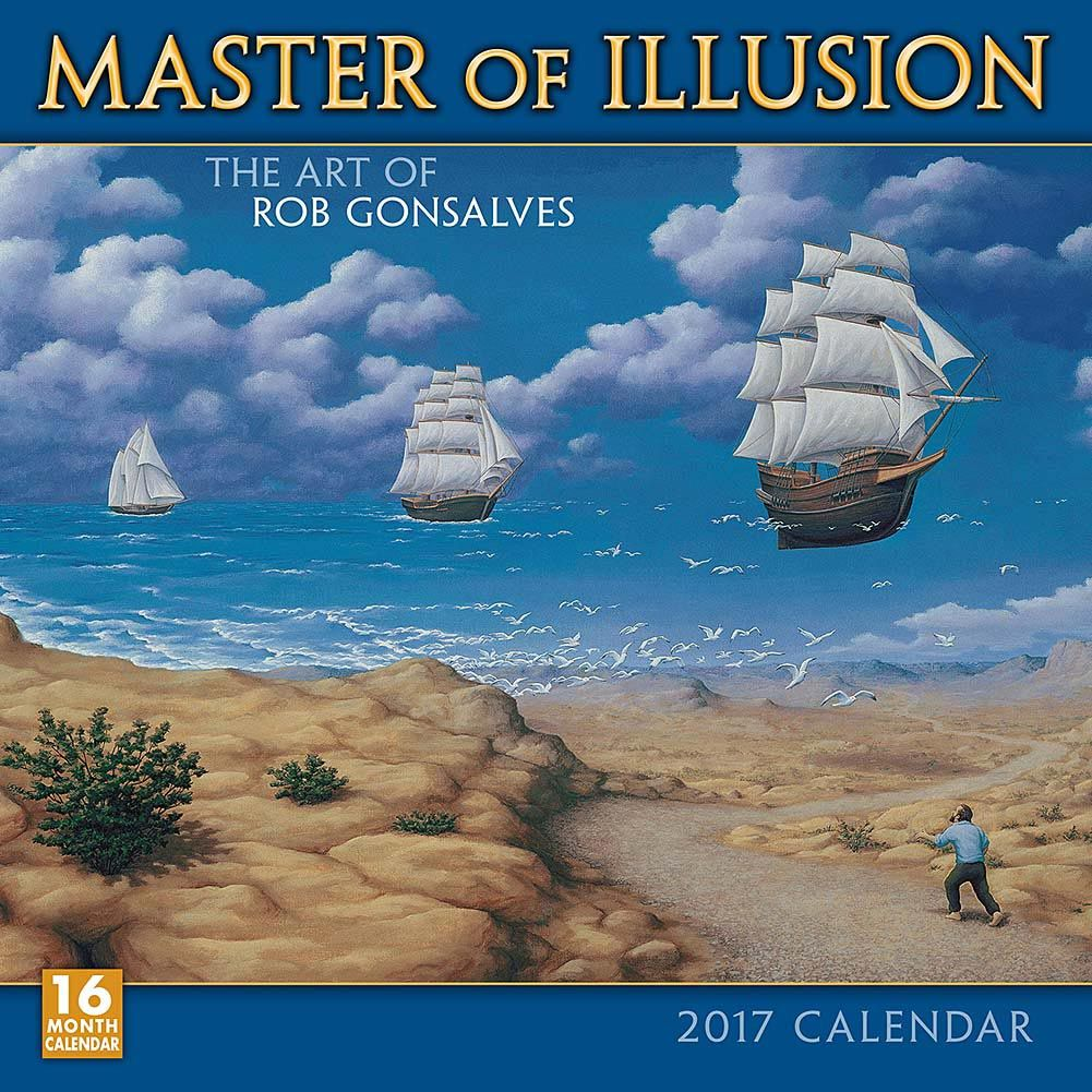 best optical illusions 2020 Master of Illusion 2020 Wall Calendar | Calendars! | Illusion
