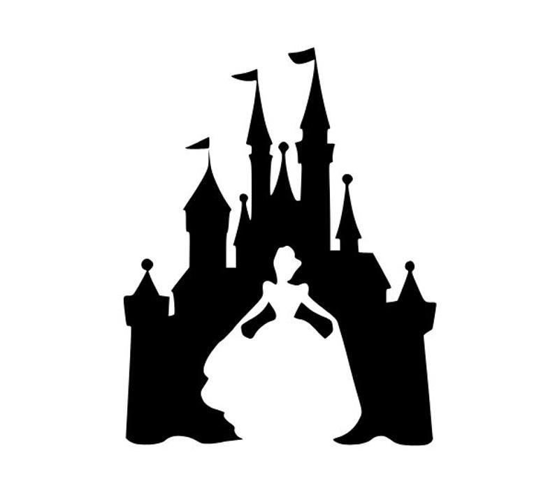 Cinderella Svg Castle Svg Disney Svg Princess Svg Disney Shirt Svg Svg Files For Cricut Disney Castle Silhouette Disney Silhouettes Disney Silhouette
