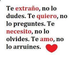 Frases Bonitas De Amor Para Enamorar A Un Hombre Qeu Amo Cute Spanish Quotes Love Messages Quotes