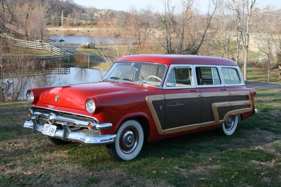 1954 Ford Country Squire For Sale Hemmings Motor News Old Cars