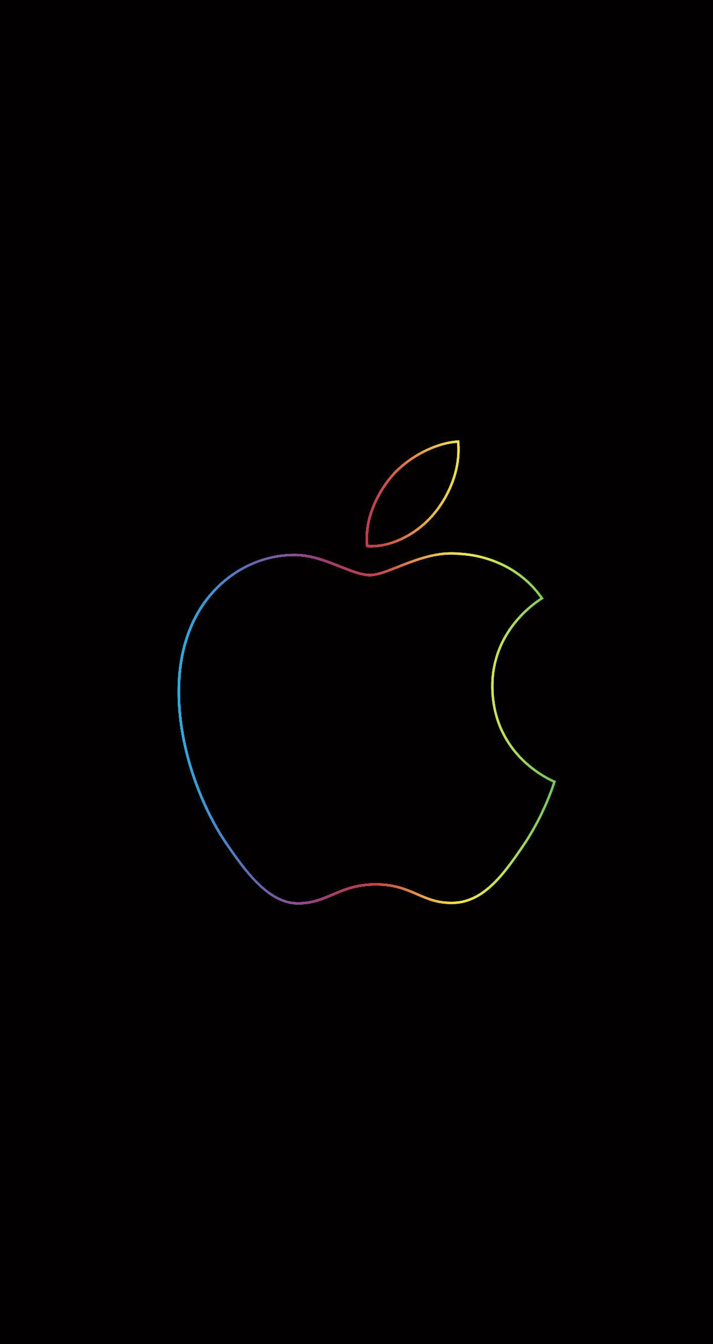 Apple Logo Vector アップルの壁紙 Apple ロゴ Iphone 用壁紙