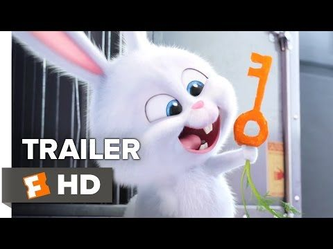 The Secret Life Of Pets Official Snowball Trailer 2016 Kevin Hart Jenny Slate Movie Hd Secret Life Of Pets Animated Movies Secret Life