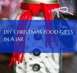 Diy Weihnachtsnahrungsmittelgeschenke In Einem Glas