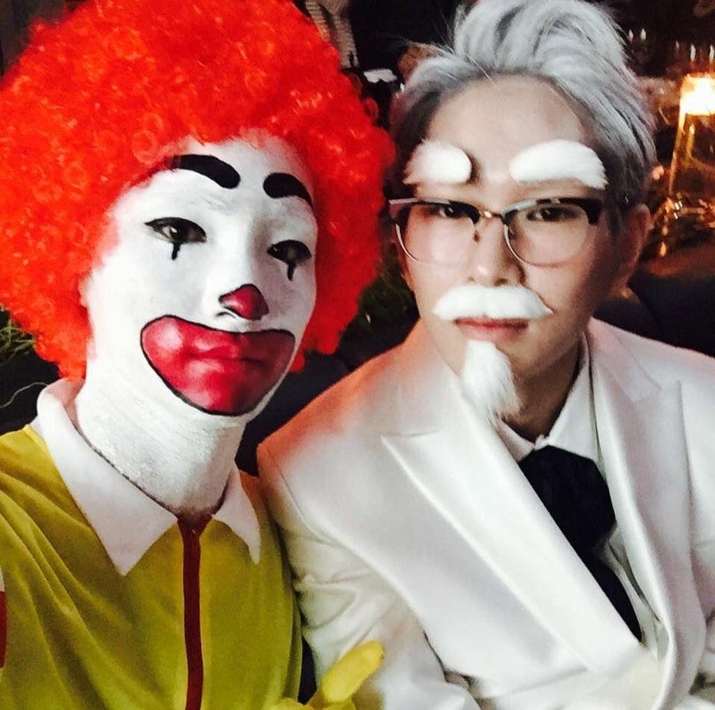 Kpop Halloween Kpop Halloween Costume Kpop Idols Halloween Shinee Halloween Easy Homemade Halloween Costumes Cool Halloween Costumes Annual Halloween Party