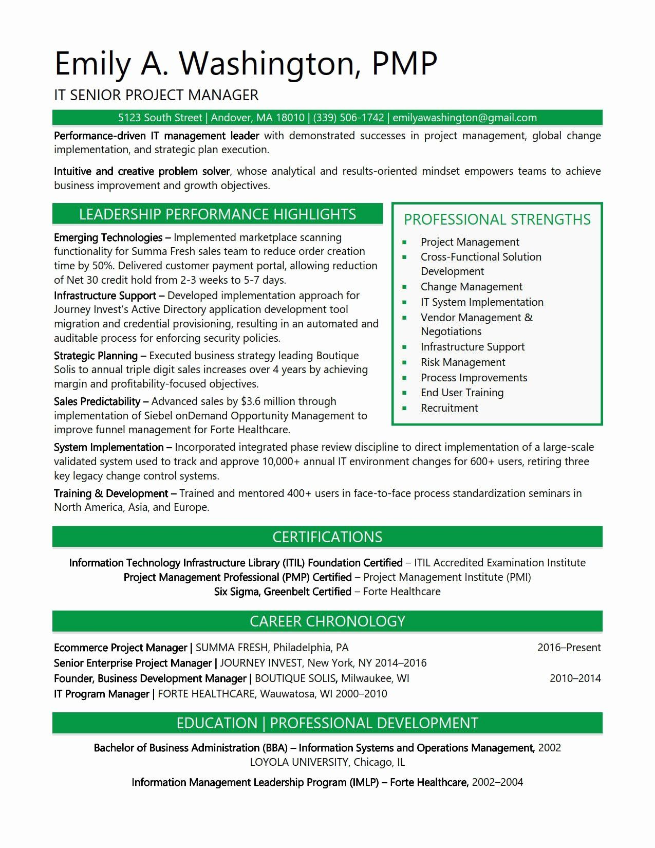 Program manager resume examples awesome resume samples in