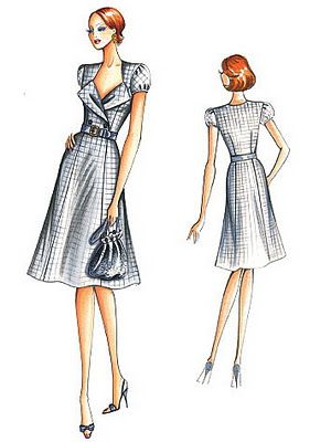 Just Skirts and Dresses: Just discovered Marfy patterns | Fashion ...
