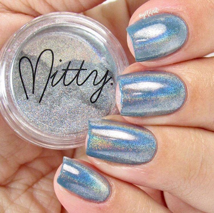 Mitty Magical Fairy Dust Holo Nail Art Powder   Manicure, Holo ...