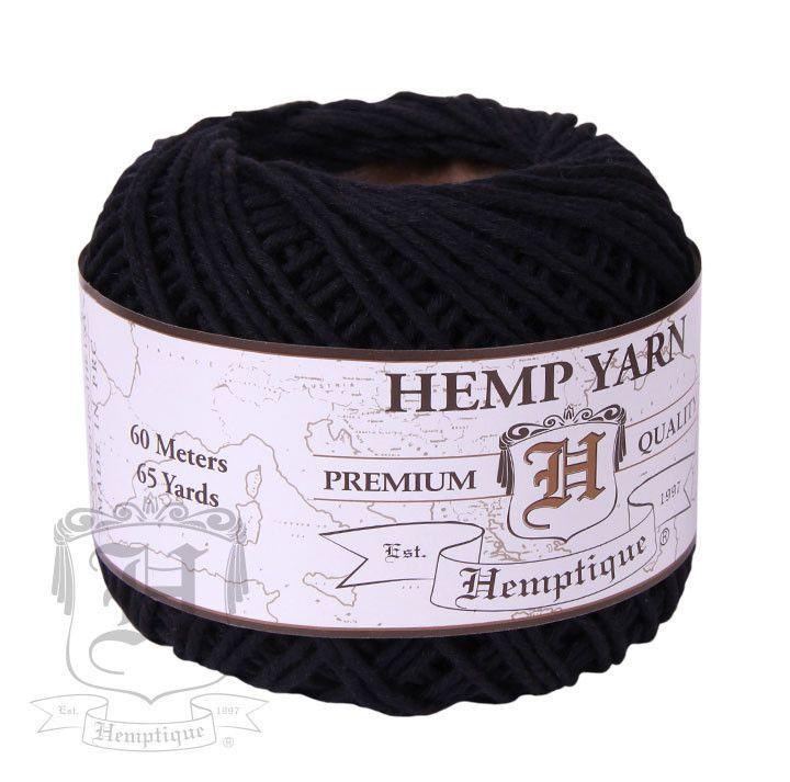 Hemp Yarn Black Hemp Yarn Yarn Hemp