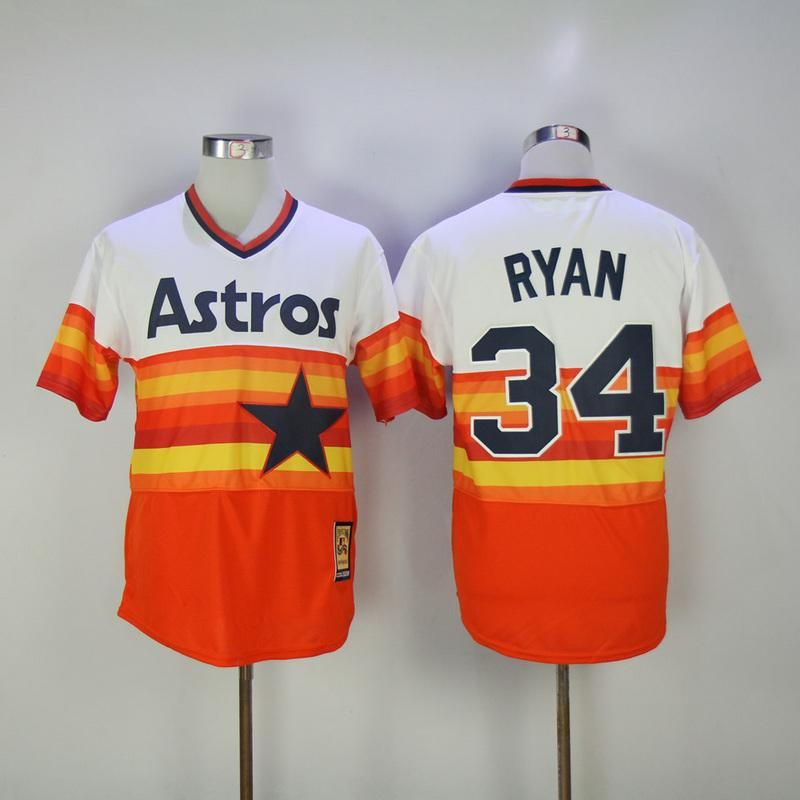 4a4172e6 Houston Astros Carlos, Correa, George, Springer, Jose, Altuve, and Nolan  Ryan Jerseys