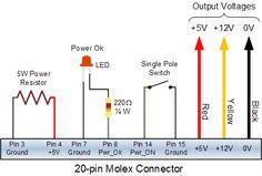 Convert ATX PSU to a Bench Power Supply | elektroniikka | Pinterest ...