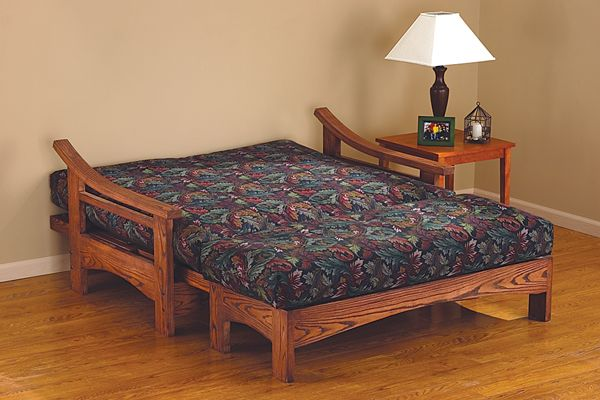 build a wide futon frame with ottomon   handyman club   scout create a  fortable place for you to rest your feet and for your      rh   pinterest
