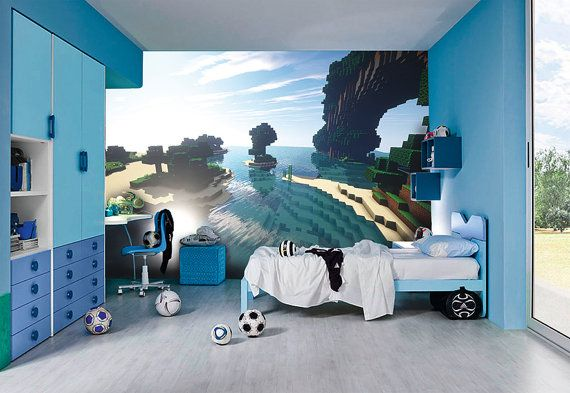 Amazing+HD+Minecraft+Wallpapers+by+Inkyourwall+on+Etsy