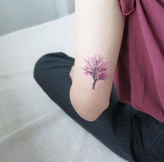 Small Jacaranda Tattoo: Pin En Tatoo
