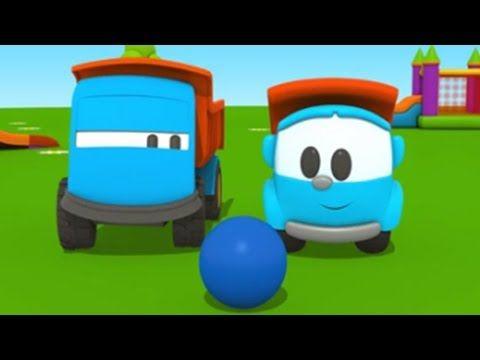 Leo Der Neugierige Lastwagen Leo Sucht Einen Freund 3d Animation Fur Kinder Geburtstagswunsche Fur Kinder Geburtstagswunsche 3d Animation