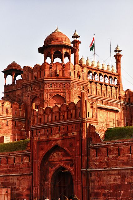 The Red Fort In Delhi India