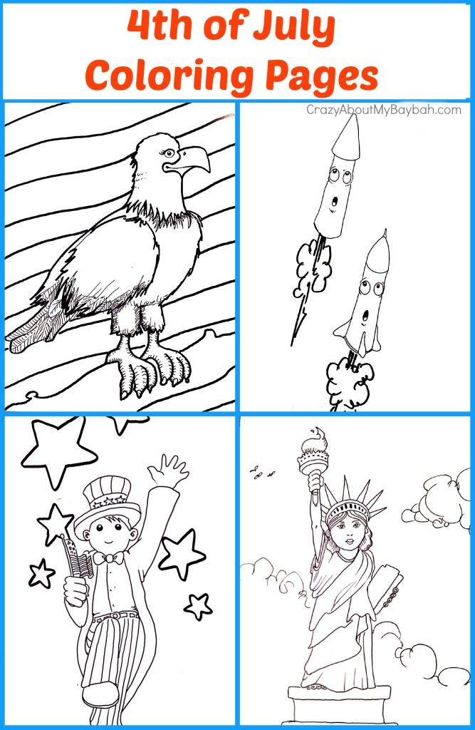 4th Of July Coloring Pages 667x1024 Free Printables