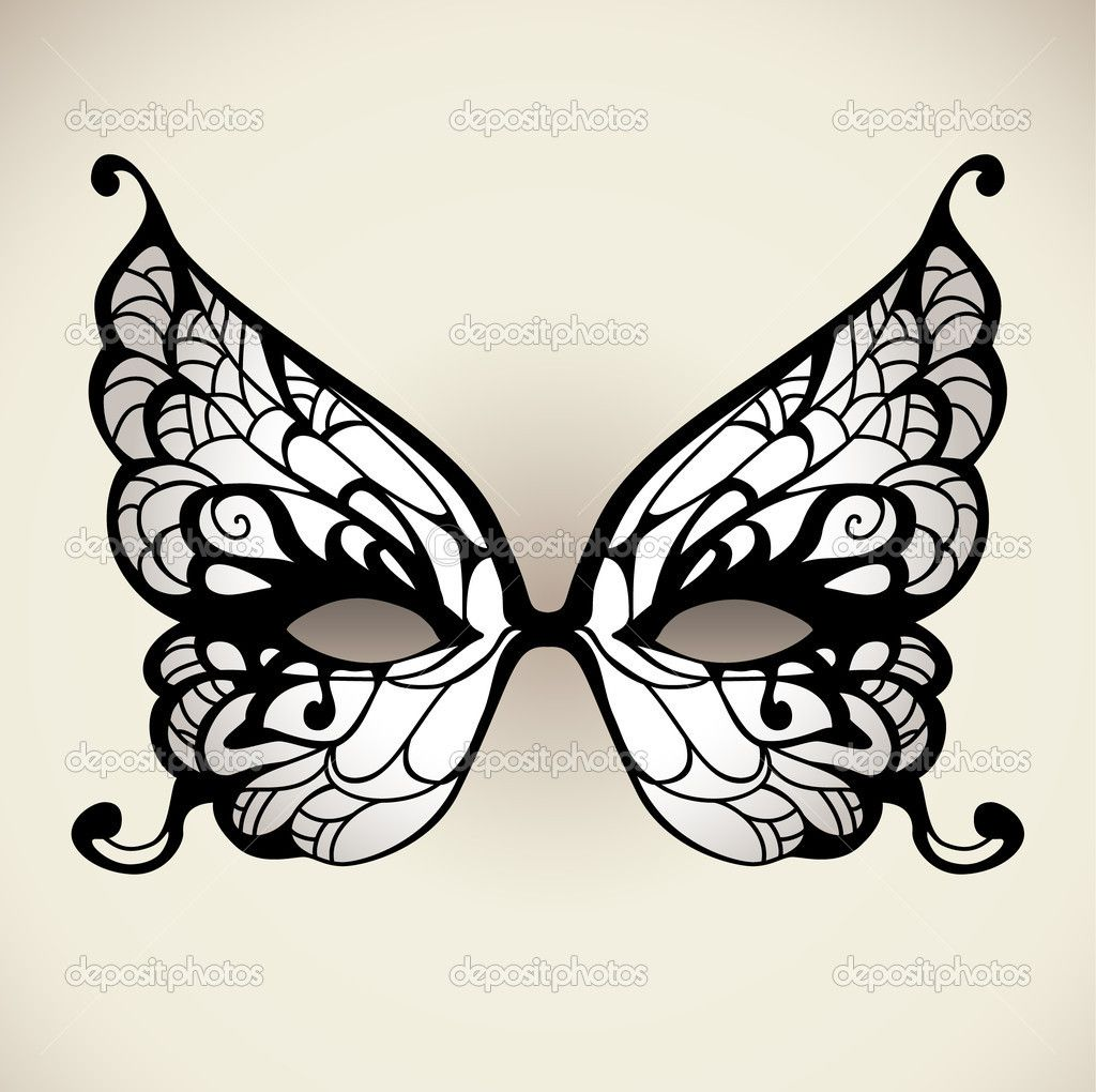 I wanna color it. Masquerade mask template, Butterfly