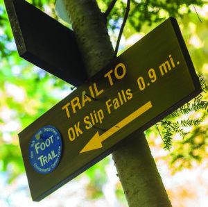 Hiking to OK Slip Falls   Fall, Journey, Hiking