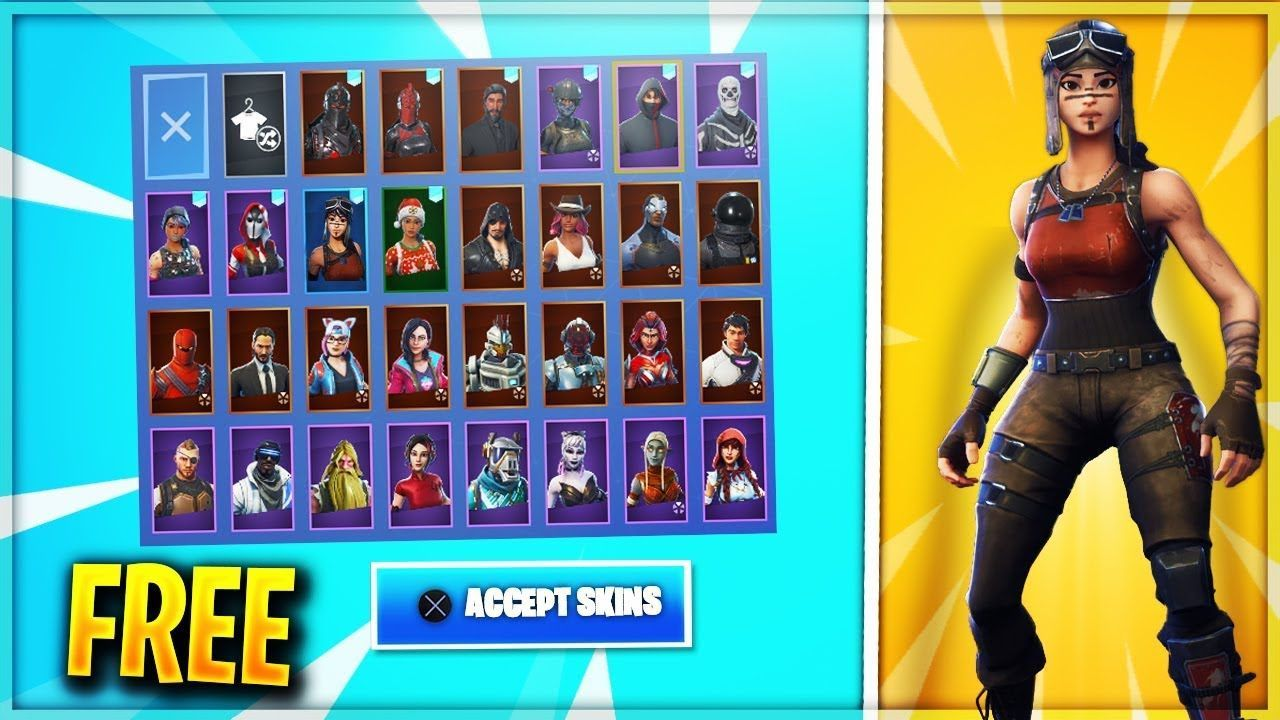 I Found A Free Fortnite Account Generator That Actually Works Stacked Skin Changer Fortnite Ghoul Trooper