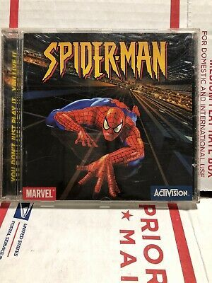 Spider-Man Spiderman PC Game, MARVEL Activision ~ Win 95 98 ME 2000 ~ FREE SHIP …