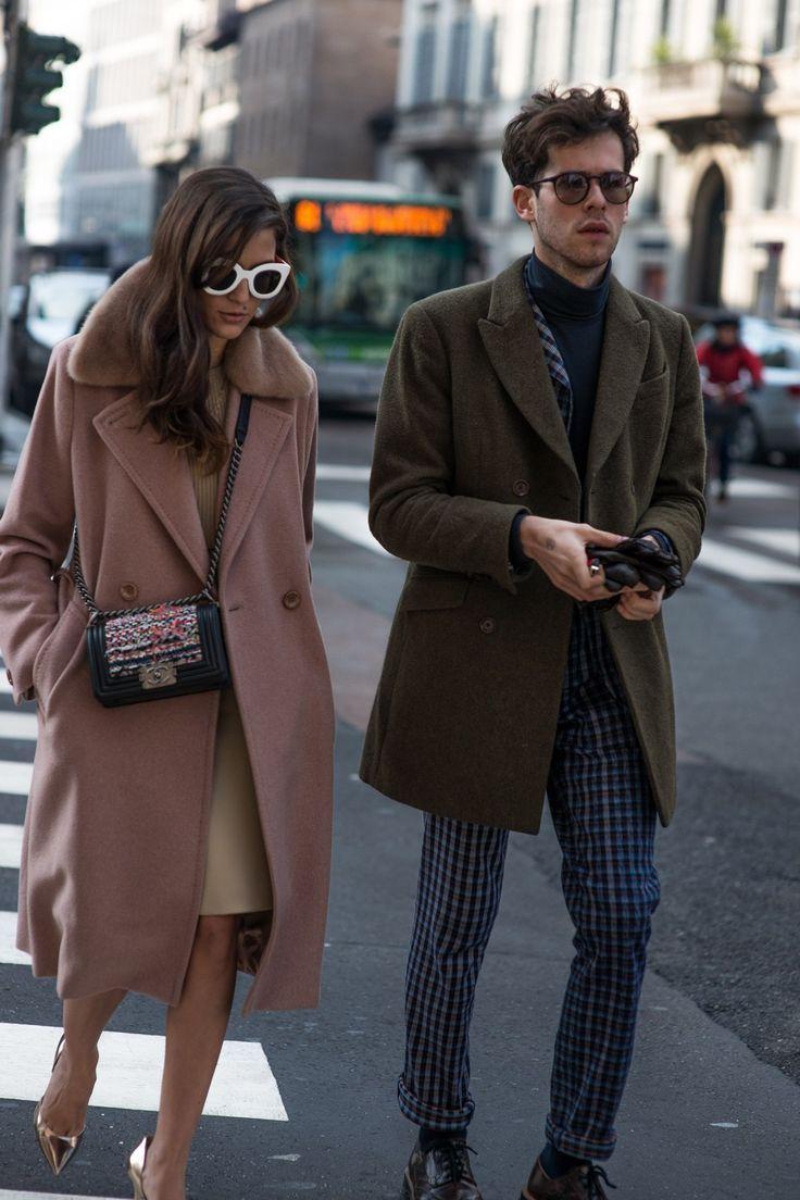Street style at Milan Fashion Week 2015 - GQ.co.uk #eleonoracarisi #albertorusso