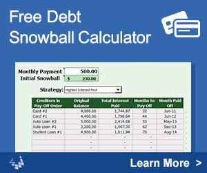 Debt Snowball Calculator By VertexCom  Finance