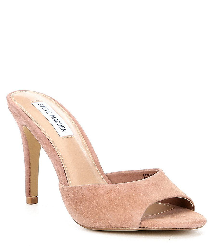 5e308c6b8e4 Steve Madden Erin Suede Stiletto Sandals | My Style | Shoes, Steve ...