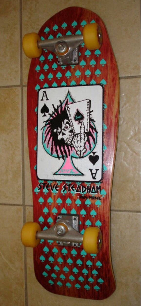 This Was My Absolute Favourite Deck Growing Up I Had It In This Colour Way Too I D Love To Get My Hands Classic Skateboard Vintage Skateboards Skateboard Art
