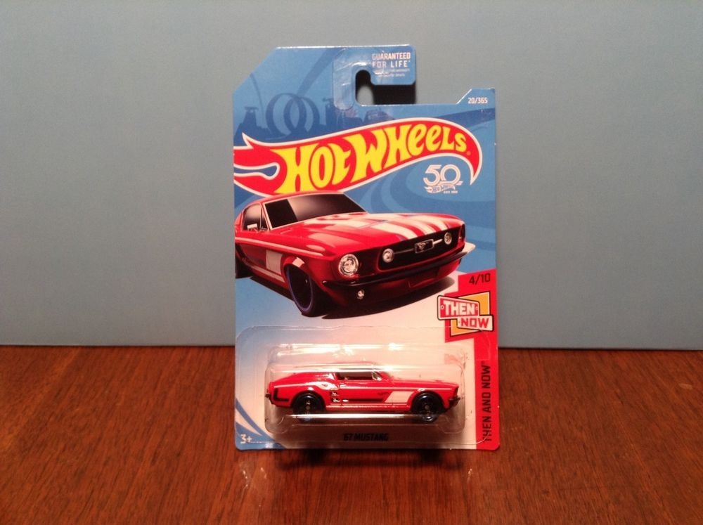1967 Ford Mustang Hot Wheels Fifty Years Mustang Yellow R23