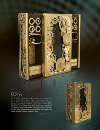 Luxury Home Safes - Private Collection by Boca do Lobo Jules - boca do lobo sideboard designs