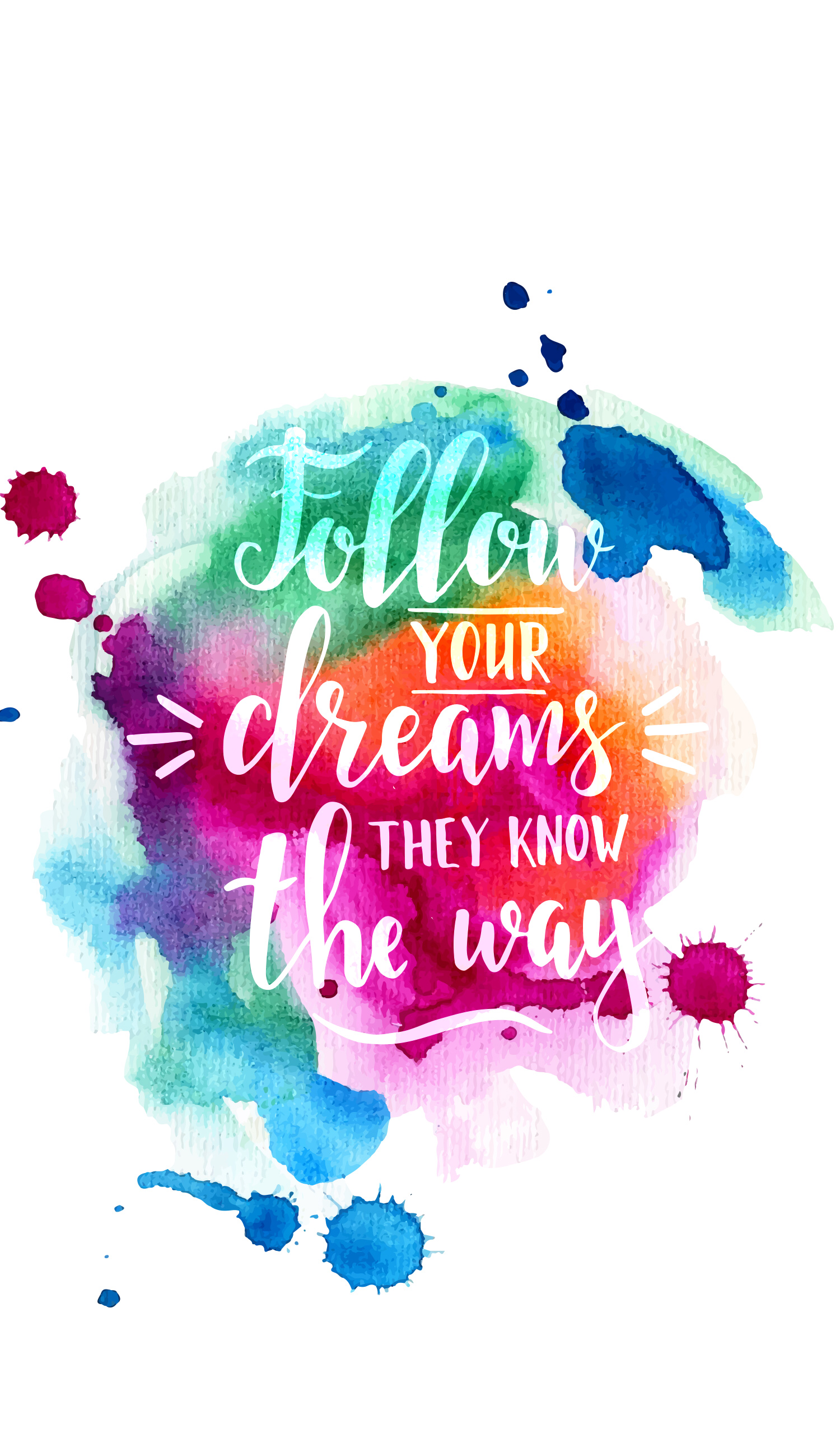 Follow Your Dreams They Know The Way Frases Motivadoras Frases