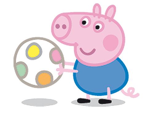 Pelúcia Papai Pig 30cm - Peppa Pig - Estrela ...