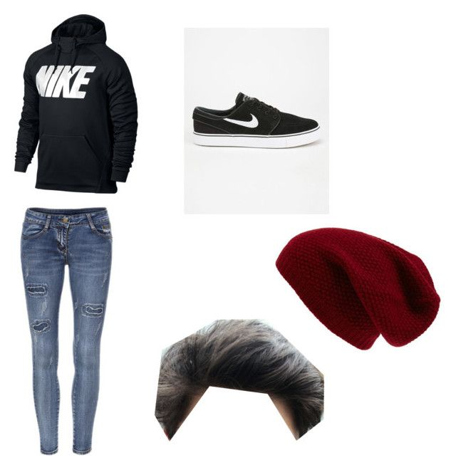 """""""Skater inspired outfit"""" by nicedogs666 ❤ liked on Polyvore featuring NIKE, Sole Society, mens, men, men's wear, mens wear, male, mens clothing and mens fashion"""