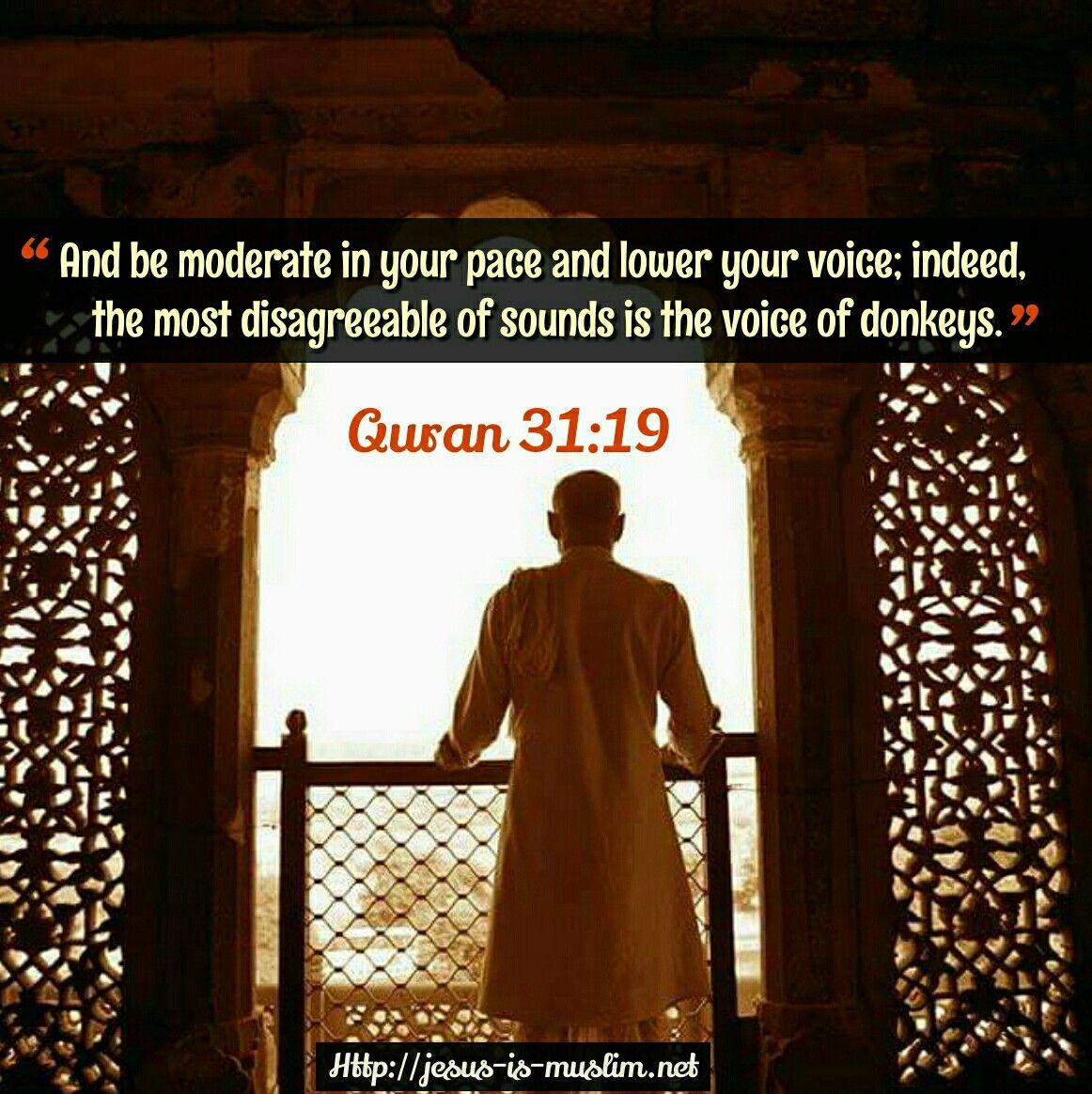 voice #man #walk #design #islamic #window #Quran   Quran