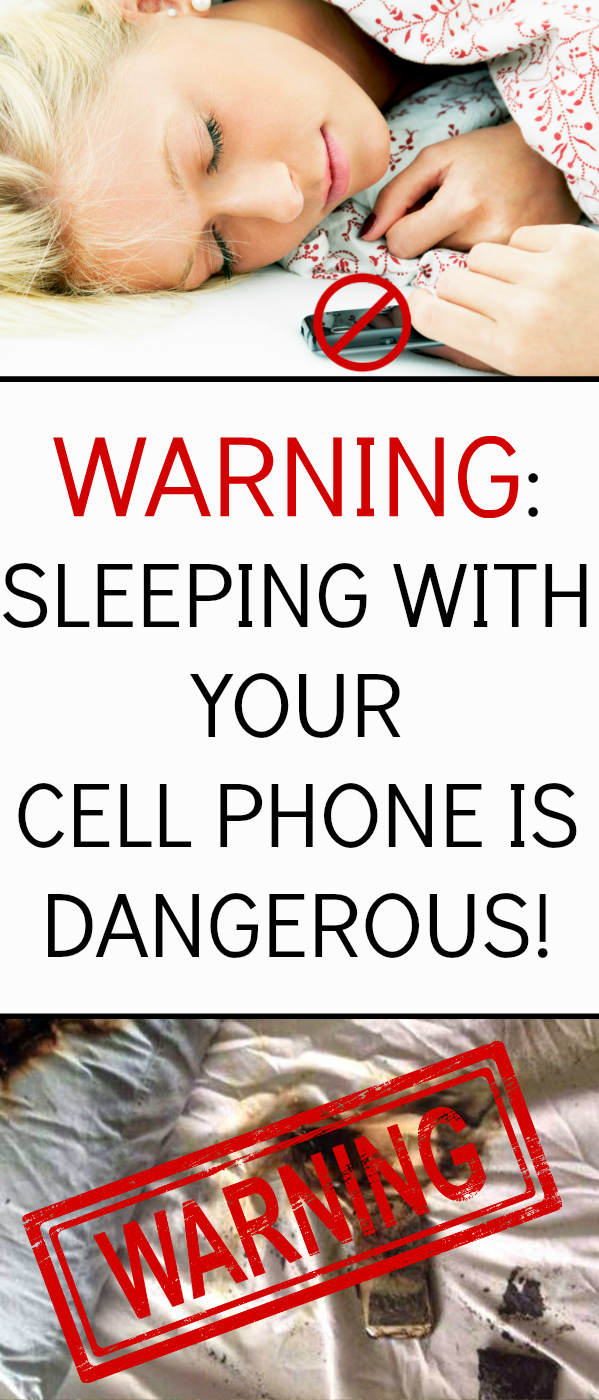 Why Should Not We Keep Our Cell Phones Under The Pillow While