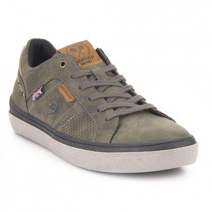 Dunlop Zapatilla Urbana Dunlop Gris Zapatillas De Cuero Calzado Hombre Calzado Masculino