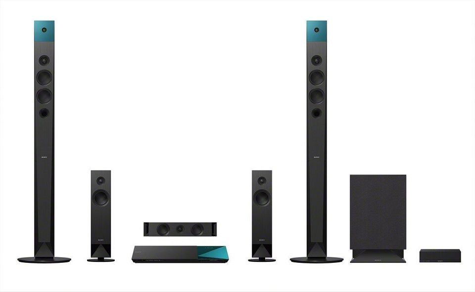 Sony Bdv N8100w 5 1 Channel 3d Blu Ray Disc Home Theater System With Wireless Rear Speakers Review Omni Reviews Home Theater System Blu Ray Home Theater Sony Home Theatre