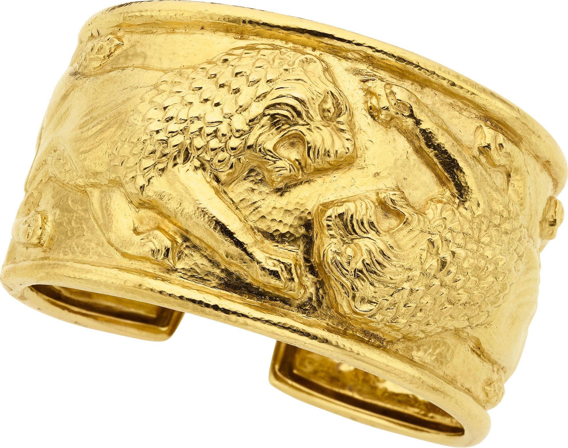 Gold bracelet david webb estate jewelrybracelets lot