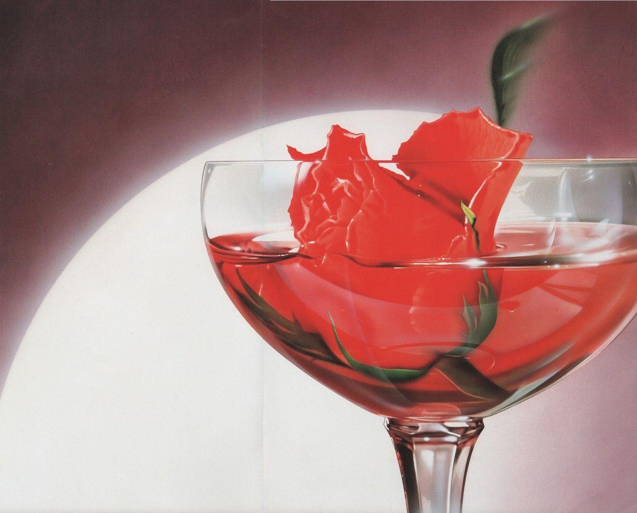 Egotrip Rose Tea Food Illustrations 80s Aesthetic