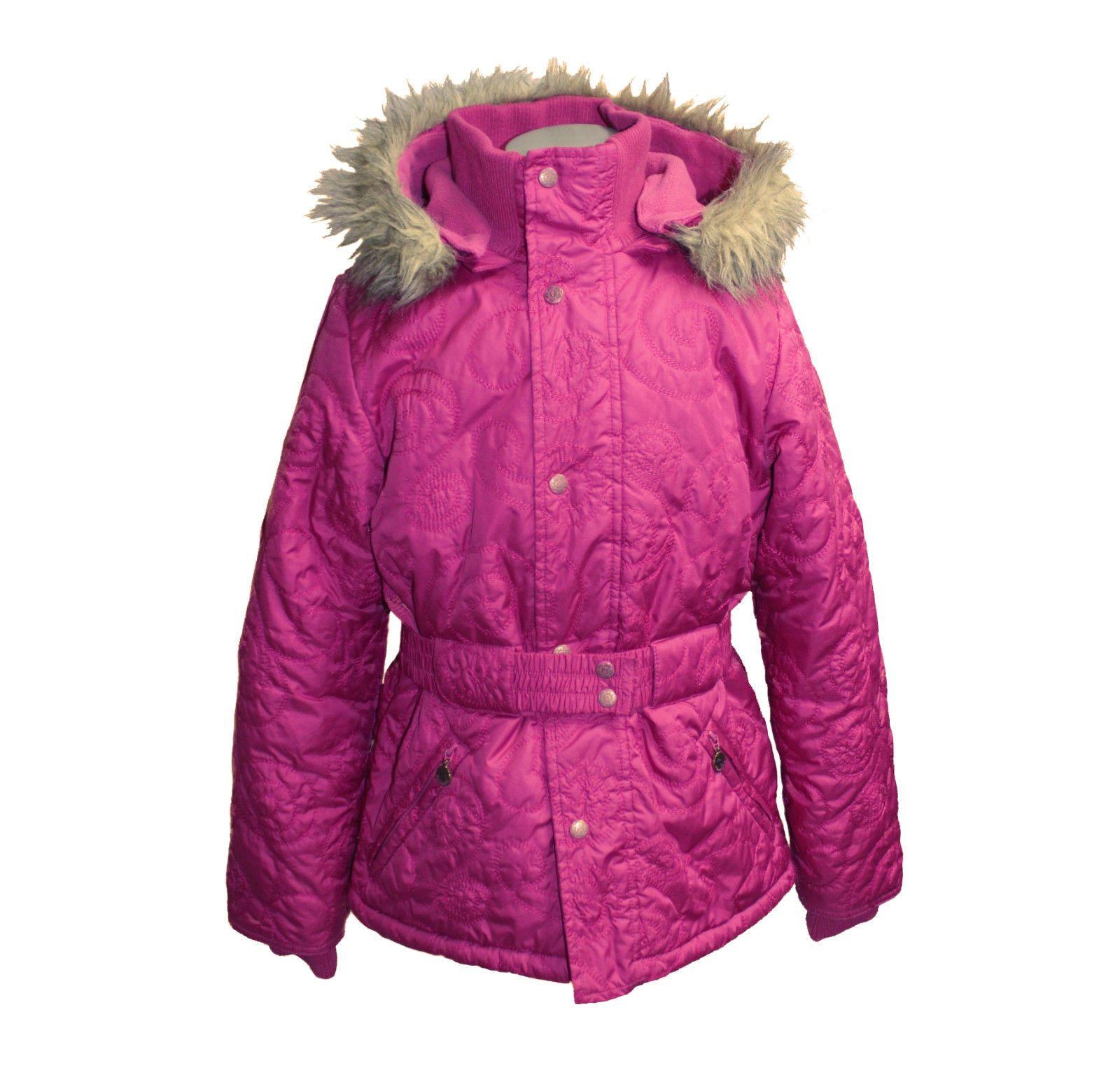 Pink 128 Pampolina Anorak Winterjacke Skijacke Mädchen Jacke UzMGSpjVLq